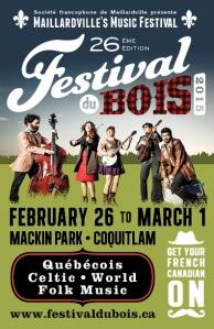 Festival du Bois Poster