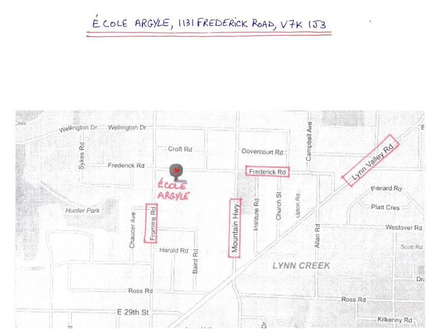 CPF Argyle - School Location - Map #001 - 151004