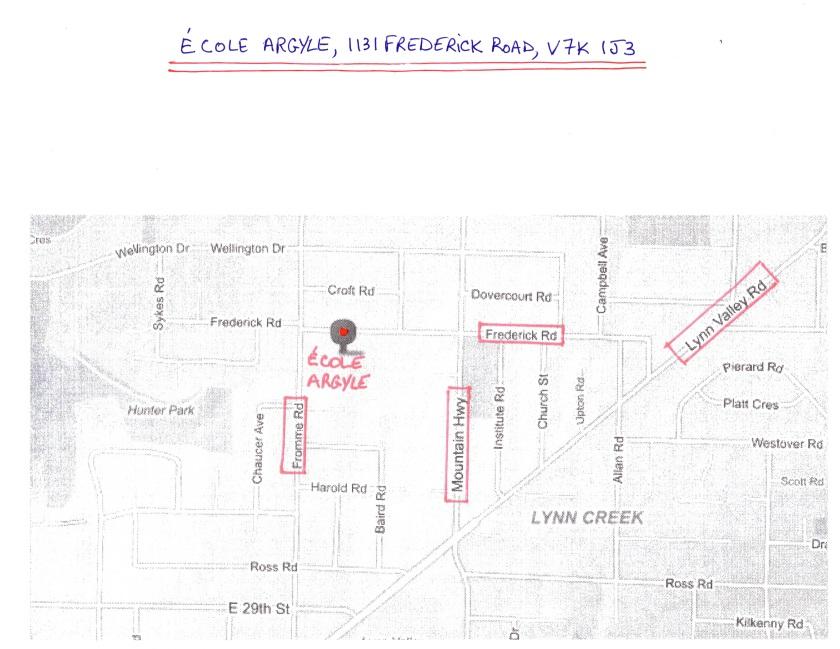 CPF Argyle - School Location - Map #001 - 151004