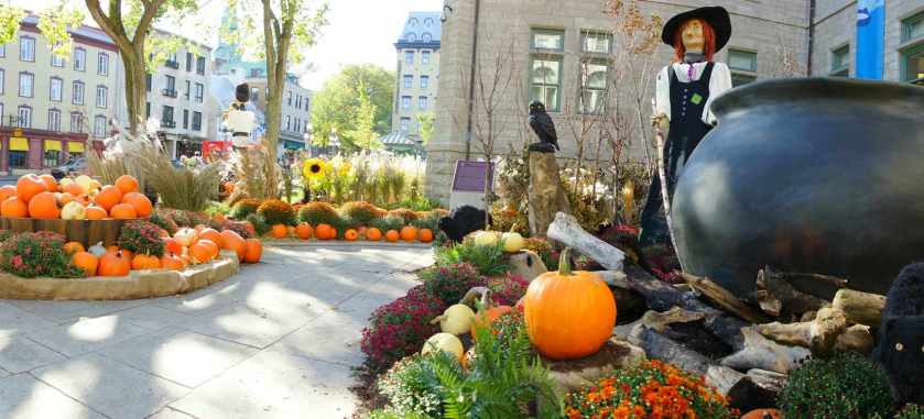 Halloween in Quebec City!