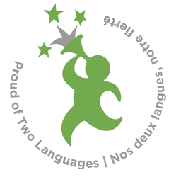 Canadian Parents for French Logo - Proud of Two Languages